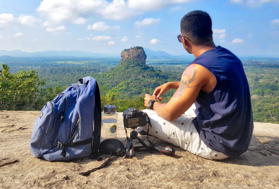 Backpackng Sigiriya