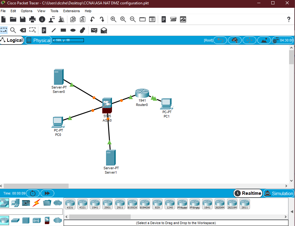 Cisco Packet Tracer en Windows